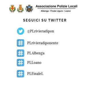 La Polizia Locale su Twitter
