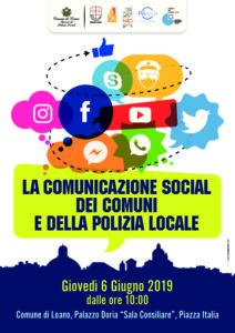 CONVEGNO SOCIAL MEDIA DEI COMUNI E POLIZIA LOCALE