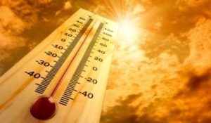 ALLERTA METEO – TEMPERATURE ELEVATE