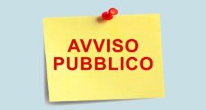 Avviso pubblico PUC (Progetti utili alla Collettività)