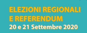 Elezioni Regionali e Referendum 20/21 settembre