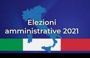 Elezioni amministrative del 3 e 4 ottobre 2021